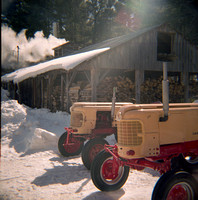 Sugar House Tractors, Atwood Farm, West Chazy, NY (Exhibition)